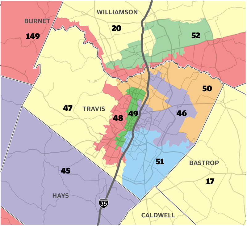 LegeLand  Getting Map Happy Local Districts Might Fare
