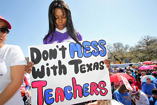 Best Grassrootsiest Movement: Save Texas Schools