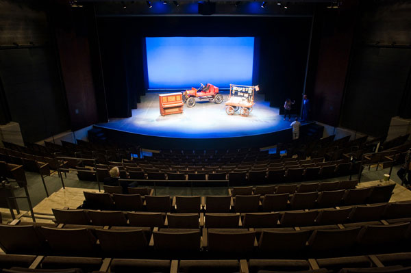 Credit Sandy Carson The New Topfer Theatre At Zach Scott