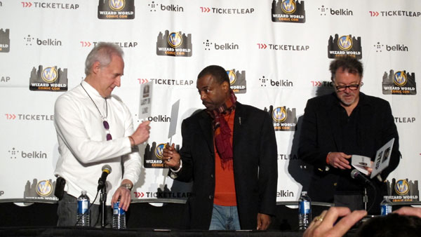 The Three Stooges of 'Star Trek: The Next Generation': Brent Spiner, LeVar Burton and Jonathan Frakes yuk it up at Wizard World Austin Comic Con.Austin Comic ConOctober 26-28, 2012