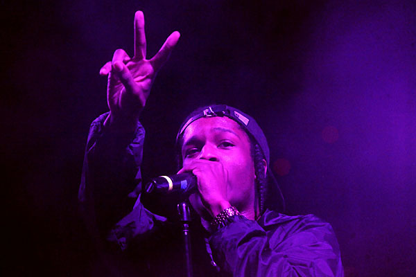 A$AP Rocky at Fun Fun Fun Fest, November 3, 2012