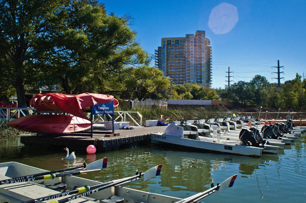 Best Thing That Floats Our Boat: Waller Creek Boathouse