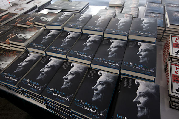 For the Ann Richards fan: Let the People In: The Life and Times of Ann Richards, by Jan Reid