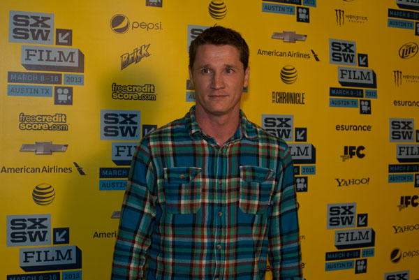 Writer Kyle Killen at the Scenic Route red carpet at the Topfer Theatre