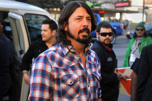Dave Grohl at the Sound City red carpet at the Paramount Theatre, March 13, 2013