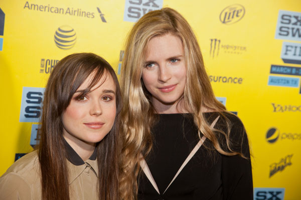Ellen Page and Brit Marling
