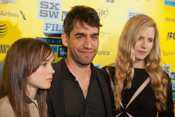 Ellen Page, Zal Batmanglij, and Brit Marling