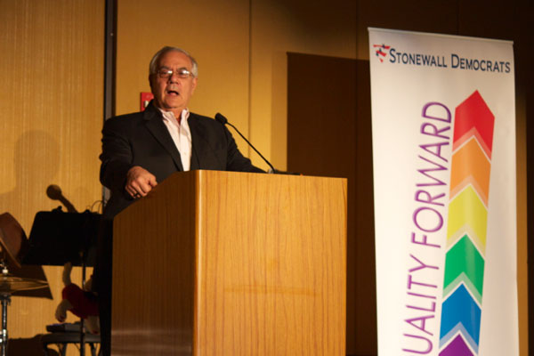 Barney Frank regales the Equality Texas Summit