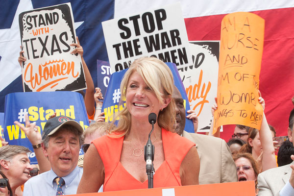 Best Elected Official: Sen. Wendy Davis