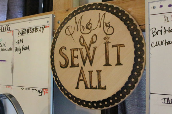 This week's The Good Eye profiles Chris and Amanda Savittiere, who run their alterations and custom-clothing business, Mr. & Mrs. Sew It All, out of their East Austin home.