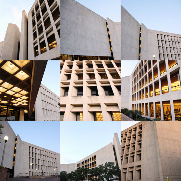Perry Casta 241 Eda Library Best Brutalist Architecture