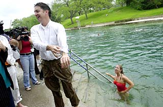 Barton Springs Reopens With Great Pleasure The Statesman