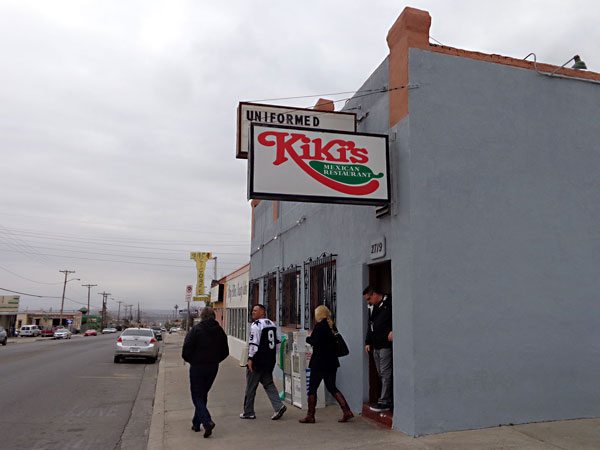 Day Trips Kiki S Mexican Restaurant El Paso A Little Place With Retion Columns The Austin Chronicle