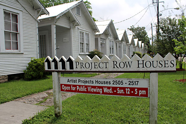 project row houses houston Explore the role of art and artists through community-driven installations, music, monthly markets and more at project row houses.