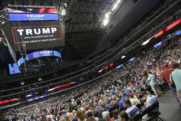 Donald Trump Rally In Dallas 1 Of 22 Photos The