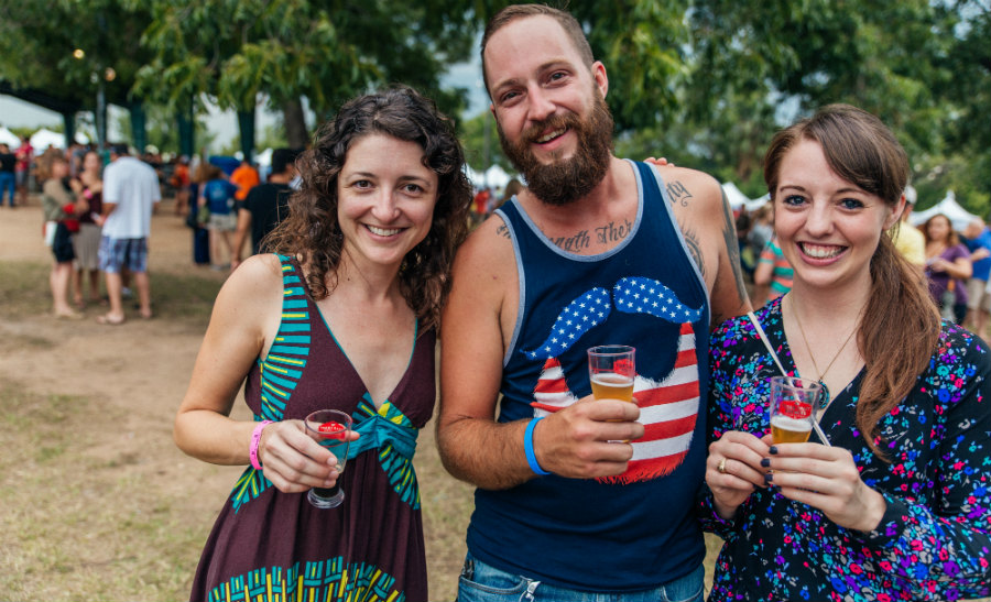 Texas craft brewers festival debuts beer list the texas for Texas craft brewers festival