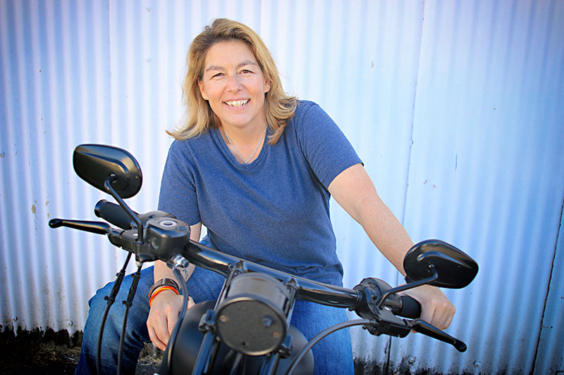 Best Biker With a Law Degree: Lenore Shefman