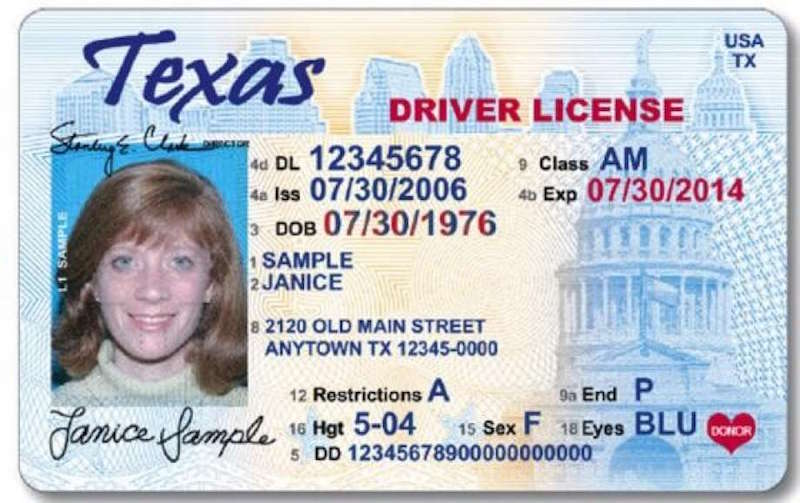 I am gay texas license
