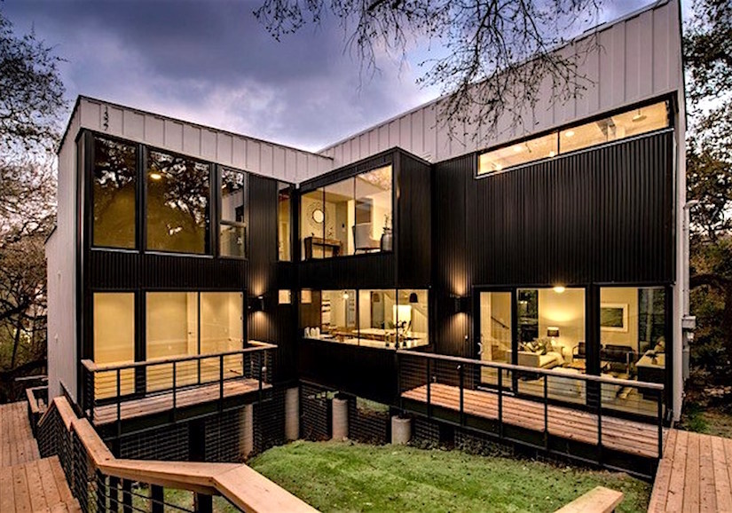 austin modern home tour this saturday think of it as a sort of architectural pinterest board. Black Bedroom Furniture Sets. Home Design Ideas