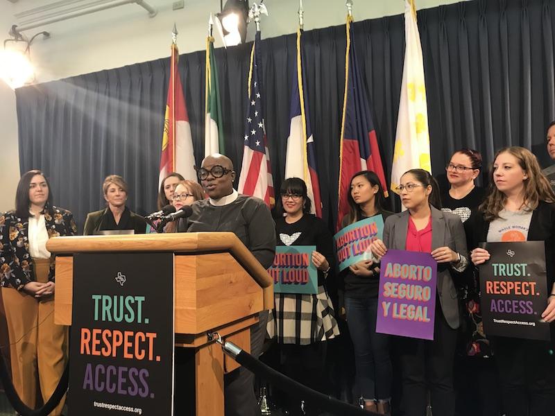 Texas Reproductive Health Advocates Lay Out Legislative Agenda
