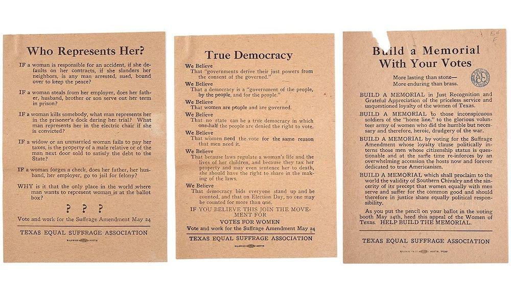 Bullock Museum Commemorates 100 Years of Women's Suffrage in Texas
