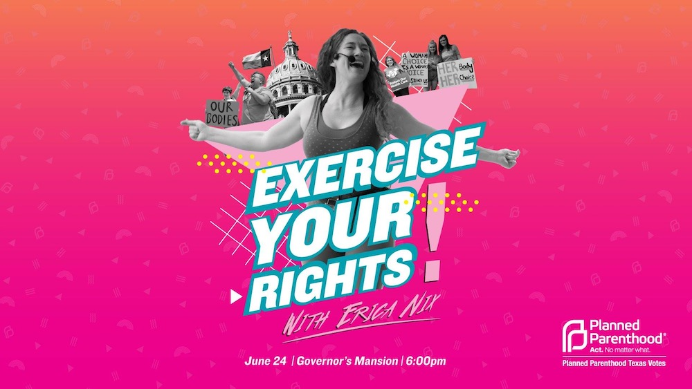 Exercise Your Rights With Erica Nix!