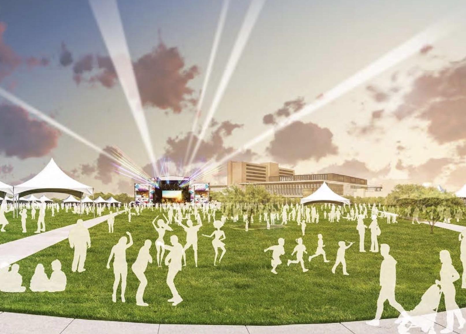New Plan Reimagines Walter E. Long Park