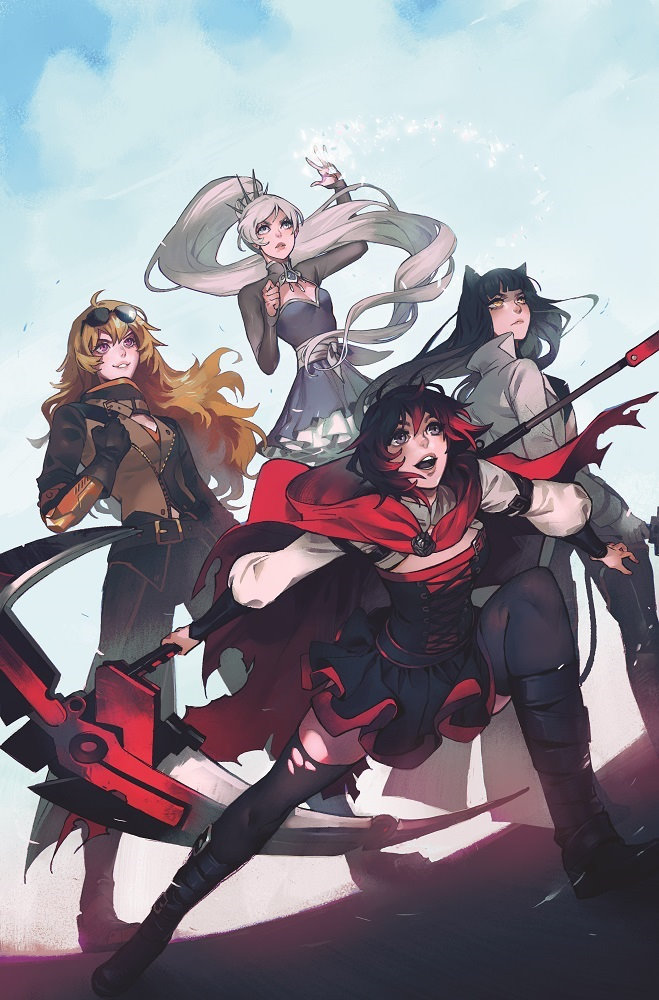 dc announces gen lock  rwby comic details at rtx  creative