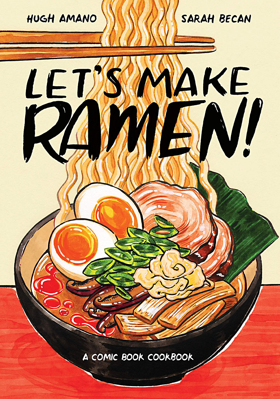 Comic Book Cookbook Shows You How to Make Perfect Ramen