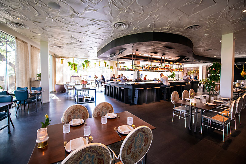 Restaurant Review: Decadence With a Price at Arlo Grey at the Line Hotel