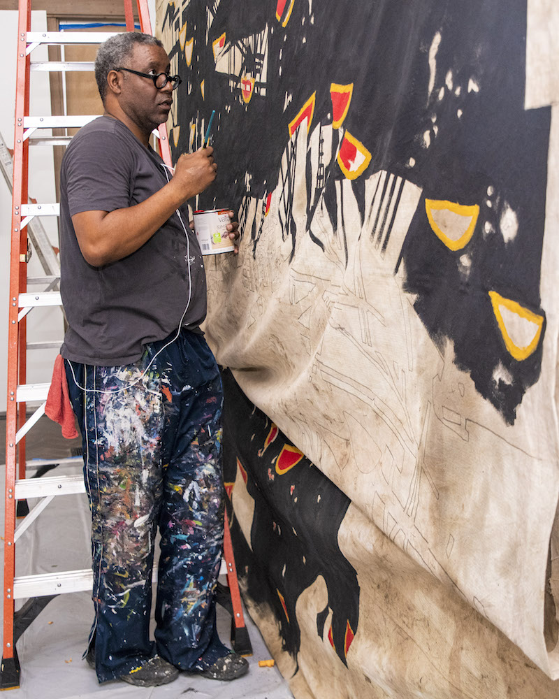 Michael Ray Charles' New Art Asks Hard Questions About Race and America