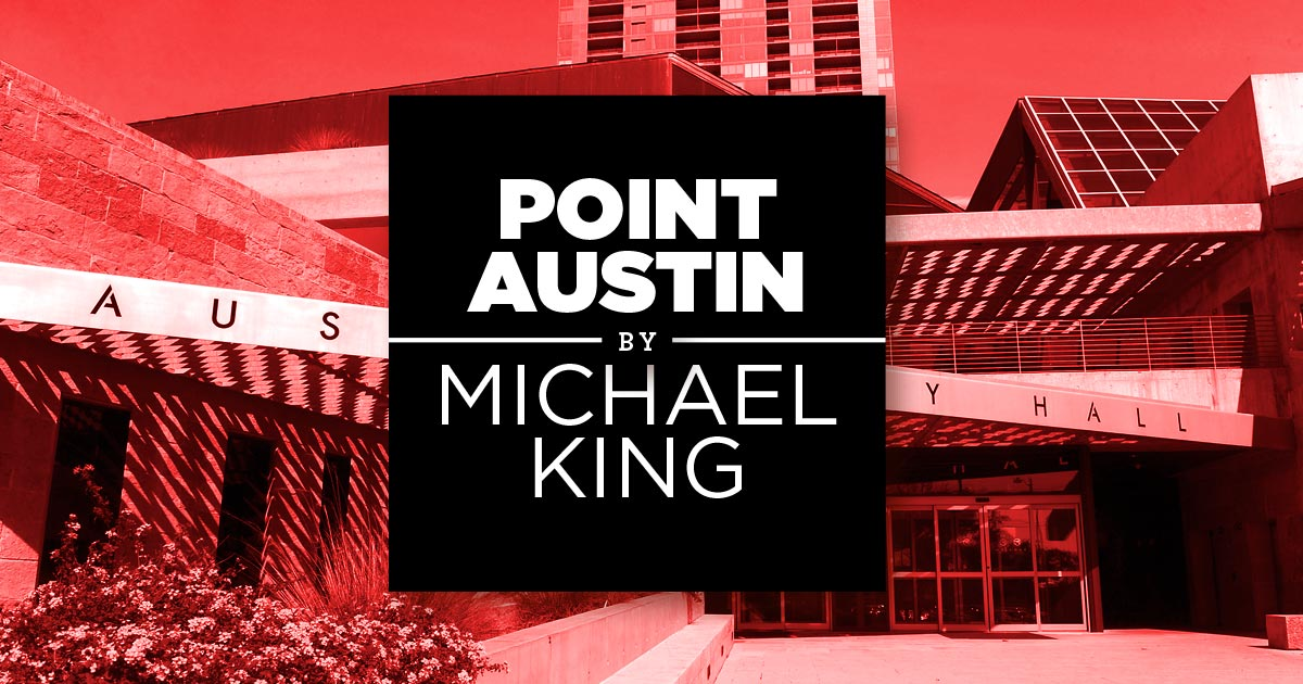 Point Austin: Watching the Races