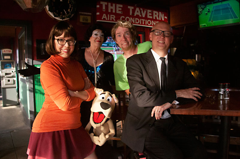 Esther's Follies Meets Scooby-Doo in The Haunting of the Tavern
