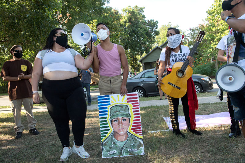 Eastside March for Vanessa Guillen - 1 of 41 - Photos - The Austin Chronicle