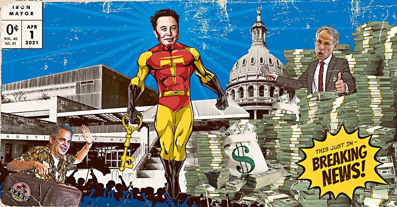 Elon Musk Purchases All of Austin, Dubs Himself Iron Mayor