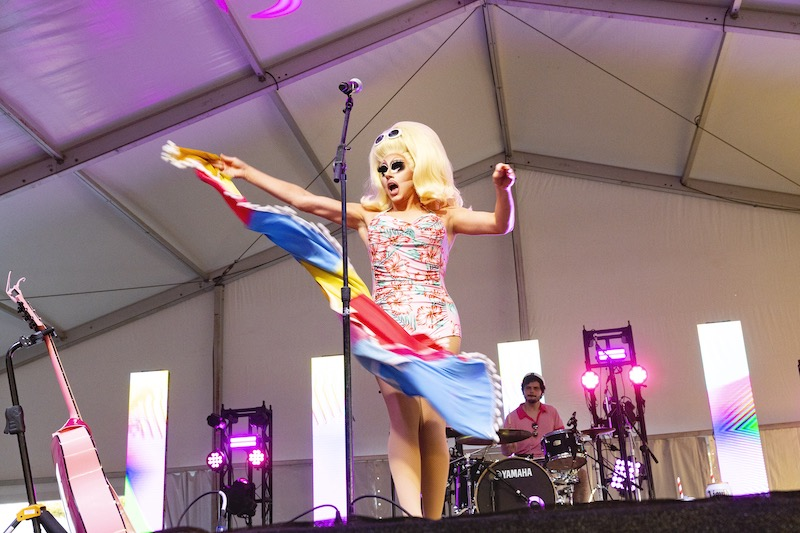 """Trixie Mattel Makes ACL Fest """"Scream Like Teenage Bisexuals"""""""