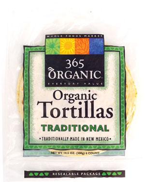 Bocaditos: Whole Foods 365 Brand Organic Flour Tortillas