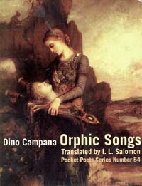 Dino Campana's Orphic Songs