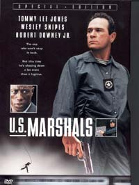 DVD cover for U.S. Marshals