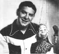 The late Buffalo Bob Smith and Howdy Doody.