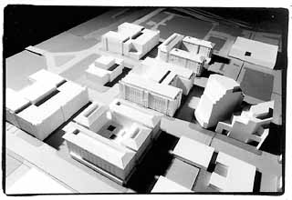 photo of downtown model