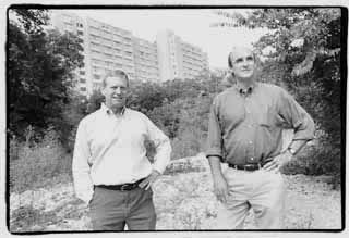 photo of Robert Knight and Perry Lorenz