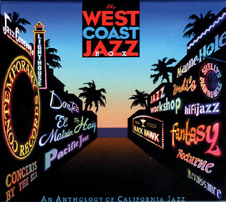 Cover of The West Coast Jazz Box