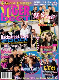 Tigerbeat magazine cover