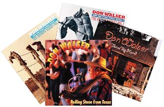 Don Walser's CD's on Watermelon Records