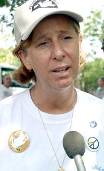 Cindy Sheehan, photo courtesy Lone Star Iconoclast